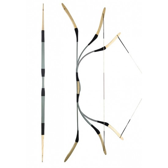 SZILAJ – HUNGARIAN TRADITIONAL RECURVE BOW FROM LAJOS KASSAI